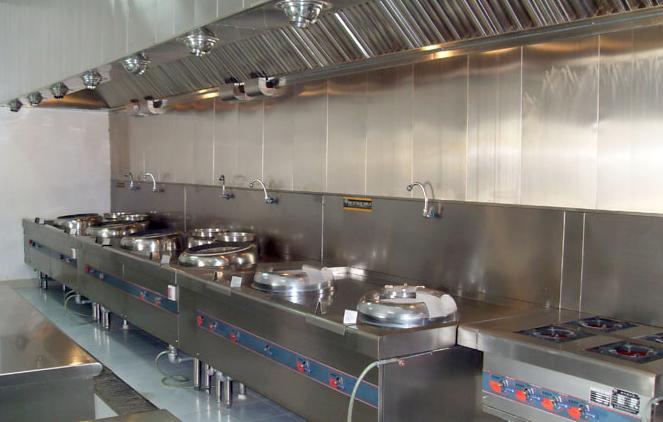 学生食堂设备安装实例
